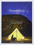 Image of Homecamp book cover. Stories and Inspiration for the Modern Adventurer